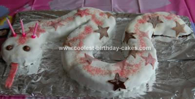 Homemade Snake Cake
