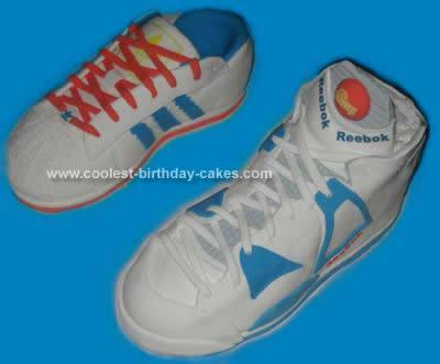 Homemade Sneaker Cake Design