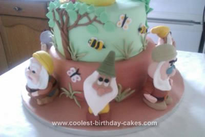 Homemade Snow White and the Seven Dwarfs