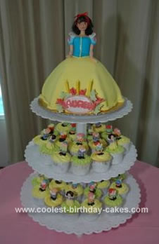Terrific Coolest Snow White Birthday Cake Funny Birthday Cards Online Alyptdamsfinfo