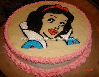 Snow White Princess Cake