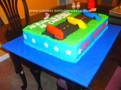 Pleasing Coolest Soap Box Derby Cake Personalised Birthday Cards Sponlily Jamesorg