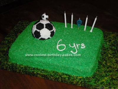 Homemade Soccer Cake