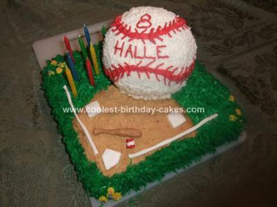 Phenomenal Coolest Softball Birthday Cake Personalised Birthday Cards Paralily Jamesorg
