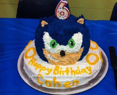 Homemade Sonic Cake