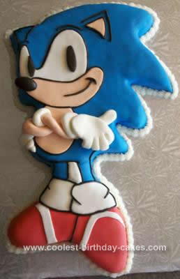 Coolest Sonic The Hedgehog Birthday Cake