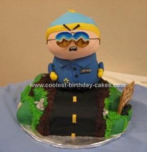 Homemade South Park Cake