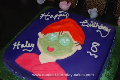 Homemade Spa Birthday Cake