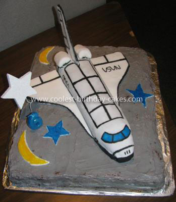 Coolest Space Shuttle Cake