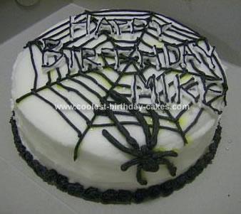 Homemade Spider Cake