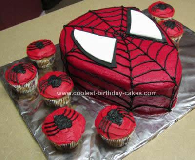 Coolest Spiderman Birthday Cake