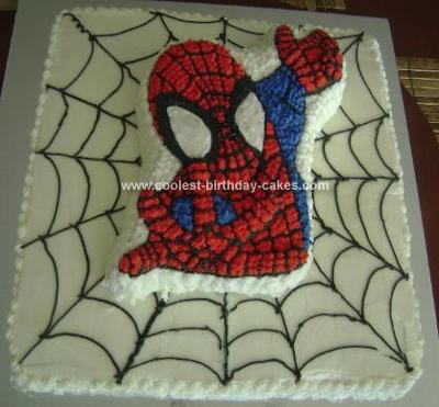 Astounding Coolest Spiderman Birthday Cake Personalised Birthday Cards Beptaeletsinfo