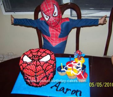 Groovy Coolest Spiderman Birthday Cake Personalised Birthday Cards Paralily Jamesorg