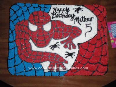 Stupendous Coolest Spiderman Birthday Cake Idea Birthday Cards Printable Opercafe Filternl