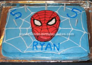 Ryan's Spiderman Cake