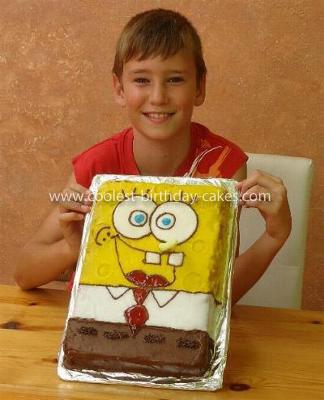 Coolest Sponge Bob Birthday Cake