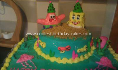 Coolest Spongebob Birthday Cake