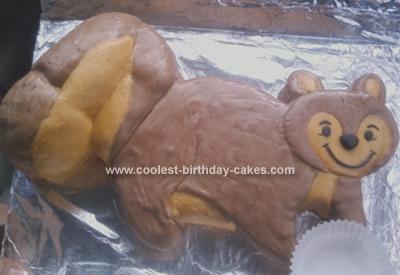 Homemade Squirrel Cake