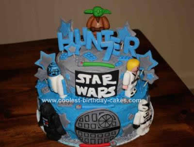 Remarkable Coolest Star Wars Birthday Cake Birthday Cards Printable Riciscafe Filternl