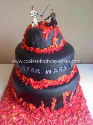 Coolest Star Wars Cake