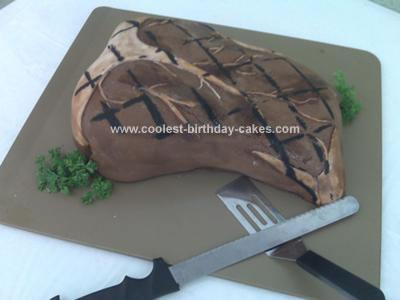 Homemade Steak Cake