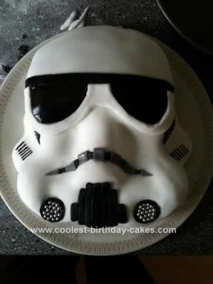 Fantastic Coolest Storm Trooper Birthday Cake Personalised Birthday Cards Paralily Jamesorg