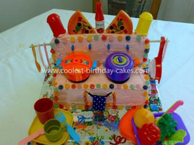 Homemade Stove Cake