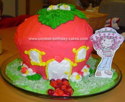 Homemade Strawberry Shortcake House