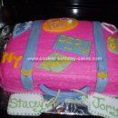 Homemade Suitcase Cake