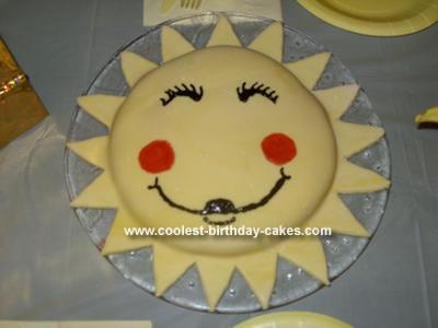 Homemade Sunshine Cake