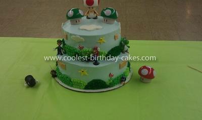 Coolest Super Mario Bros. Birthday Cake