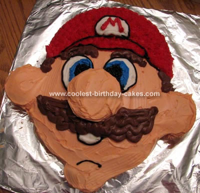 Coolest Homemade Mario Brothers Cakes