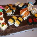 Sushi Candy Birthday Cake