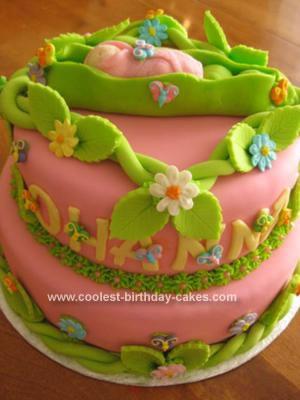 Homemade SweetPea Cake