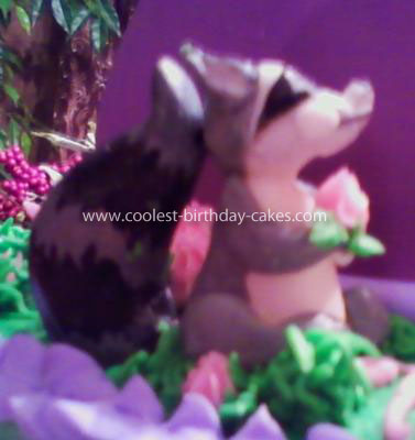 Homemade Tangled Birthday Cake
