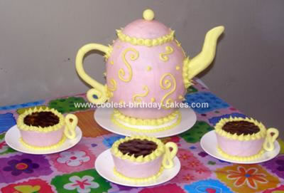 Magnificent Coolest Tea Party Cake Funny Birthday Cards Online Necthendildamsfinfo