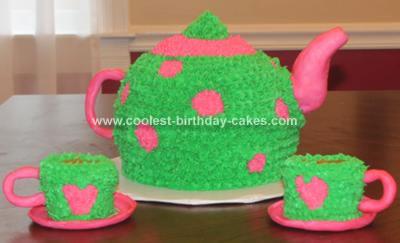 Homemade Tea Party Cake