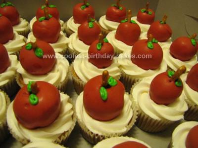 Homemade Teacher Appreciation Cupcakes