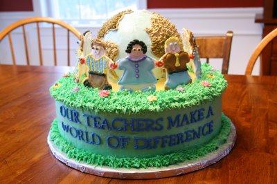 Teacher Appreciation Day Cake
