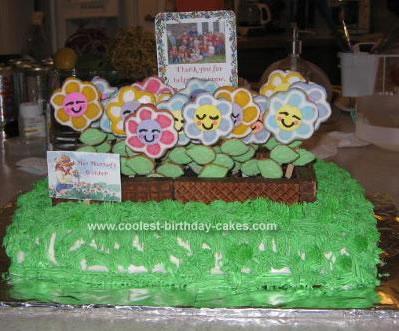 Homemade Teacher Appreciation Day Cake