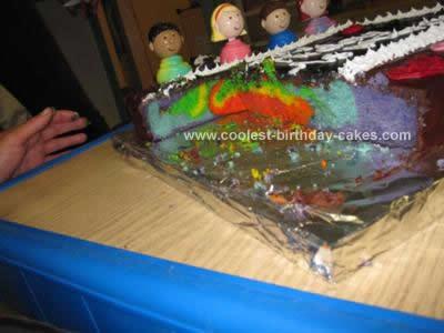 Homemade Teacher Cake