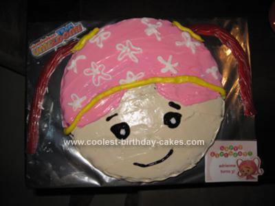 Homemade Team Umizoomi Milli Cake