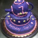 Coolest Teapot Birthday Cake