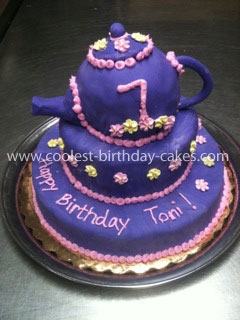 Strange Coolest Teapot Birthday Cake Personalised Birthday Cards Cominlily Jamesorg