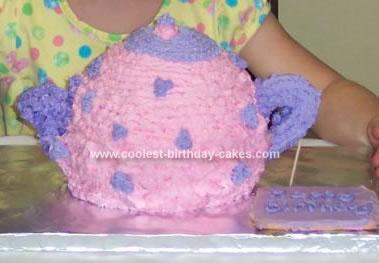 Homemade Teapot Cake