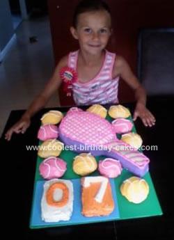 Homemade Tennis Cake
