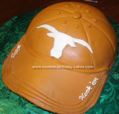 Homemade Texas Longhorns Baseball Cap