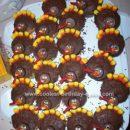 Homemade Thanksgiving Turkey Cupcakes