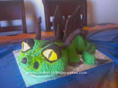 Homemade The Terrible Terror Cake