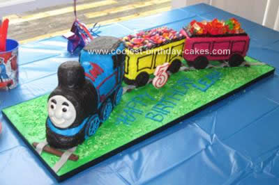 Homemade Thomas Cake